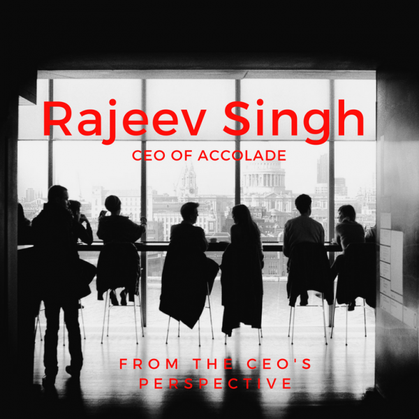 CEO Perspective: Rajeev Singh, CEO of Accolade Featured Image