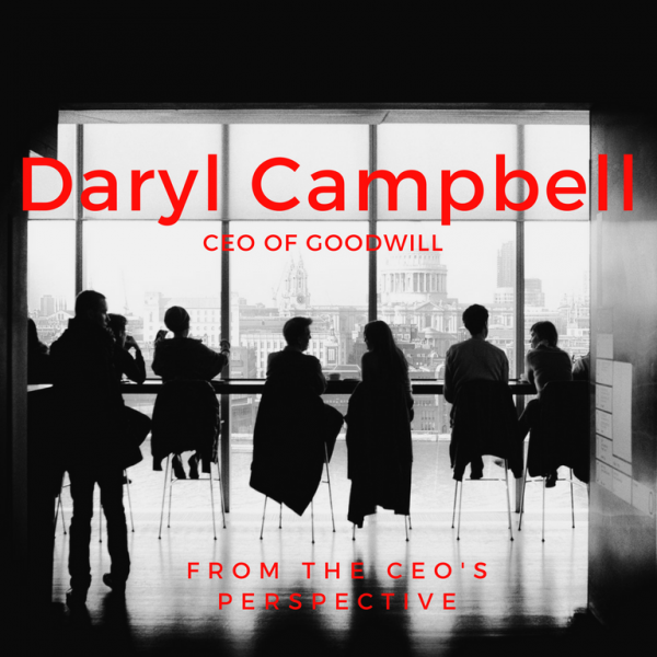 CEO Perspective: Daryl Campbell, CEO of Goodwill Featured Image