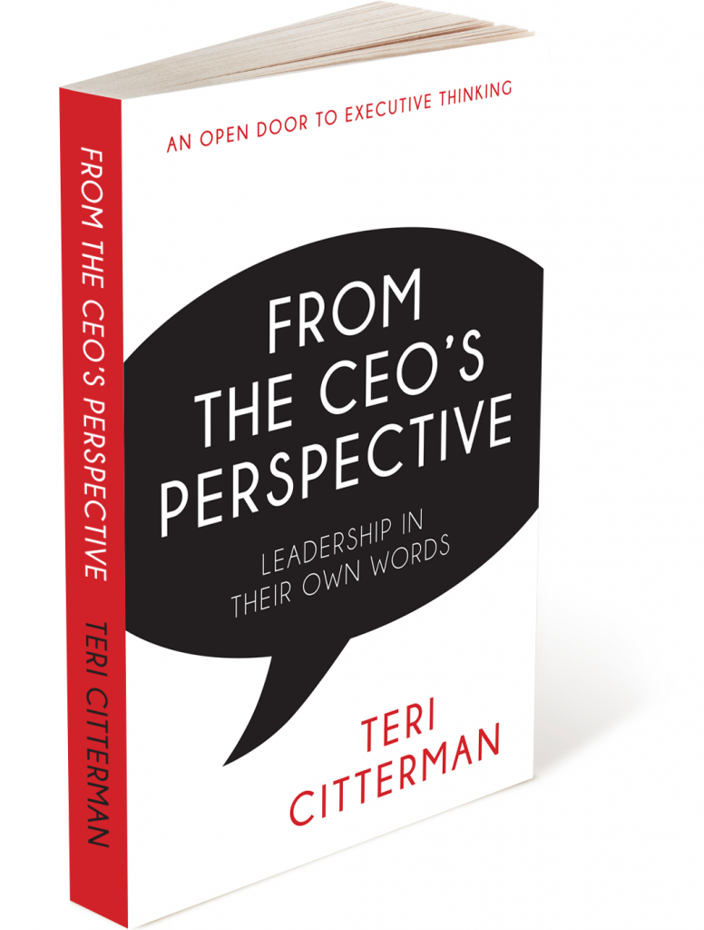 from the ceo s perspective by teri citterman buy the book talonn