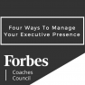 Four Ways To Manage Your Executive Presence