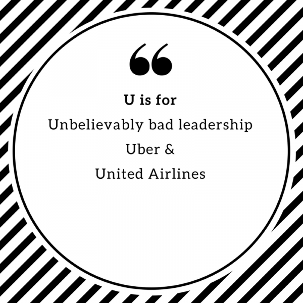 U is for Unbelievably…Shitty Leadership Featured Image