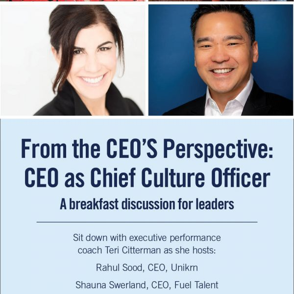 "The Washington Athletic Club Launches Partnership with Executive Performance Coach Teri Citterman; New Home of ""From the CEO's Perspective"" Leadership Series Featured Image"